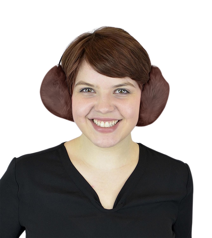 Women's Winter Ear Warmers - Faux Furry Warm Outdoors Ear Muffs - Fashion Earbands and Earmuffs by Belle Donne - Brown