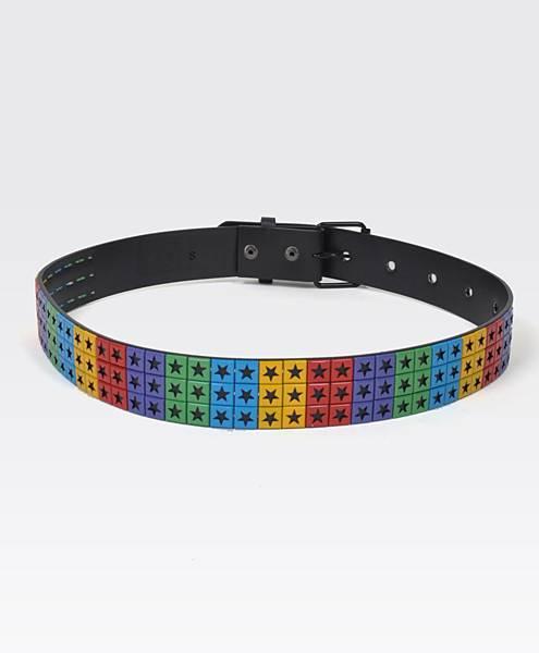 Rainbow Stars Women's Fashion Belt Large