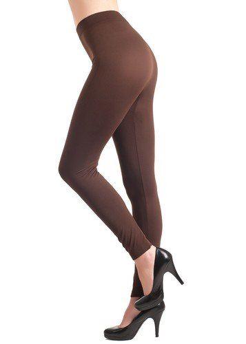 Coffee Seamless Full Length Leggings