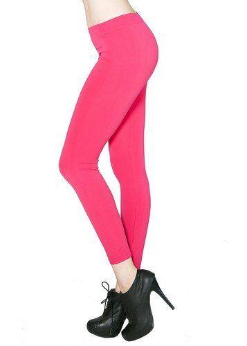 Pink Seamless Leggings
