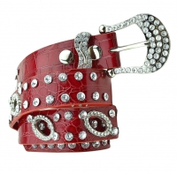 BB-Belt-L101-Red/Small