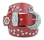BB-Belt-L106-Red/Large