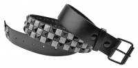 BBT-BELT-7003-Black-Silver/L