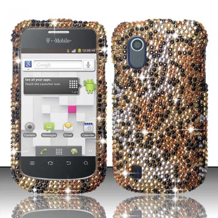For ZTE Concord V768 (T-Mobile) Full Diamond Design - Cheetah FPD