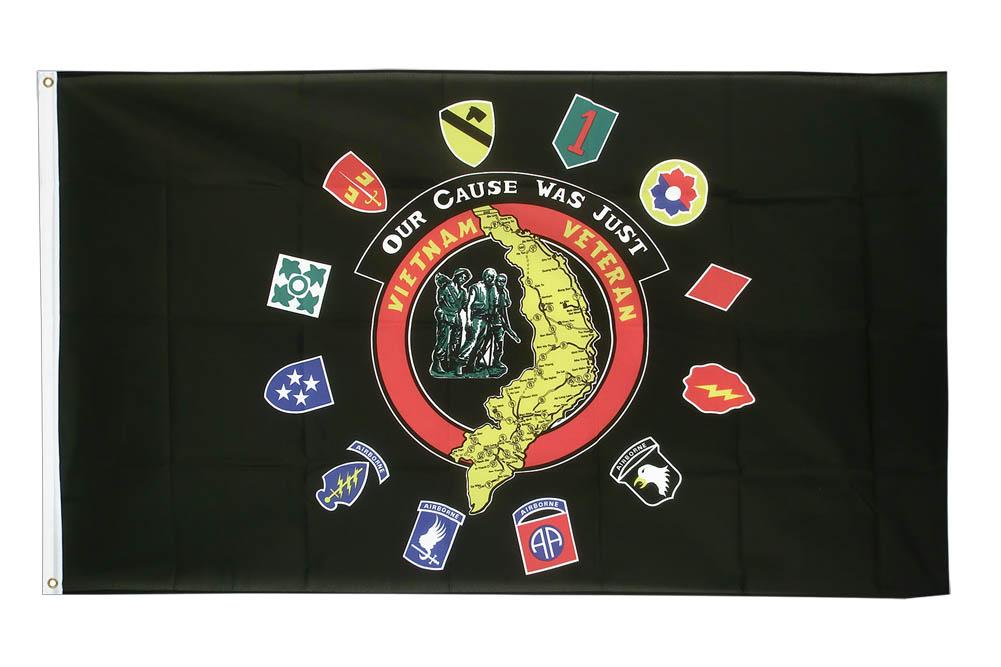 US Flag Store Vietnam Veteran 3x5ft Printed Polyester Flag