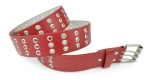 BBT-BELTS-805-Red/Large