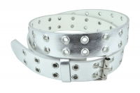 BBT-BELT-3039-Silver/XL
