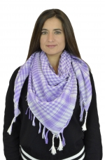 NYW-SCARF-VS1001-6015-PurpleWhite