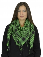 NYW-SCARF-VS1001-6013-GreenBlack