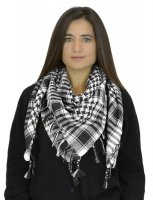 NYW-SCARF-VS1001-6020-BlackWhite