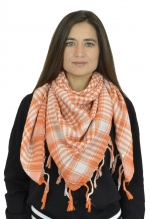 NYW-SCARF-VS1001-6014-WhiteOrange