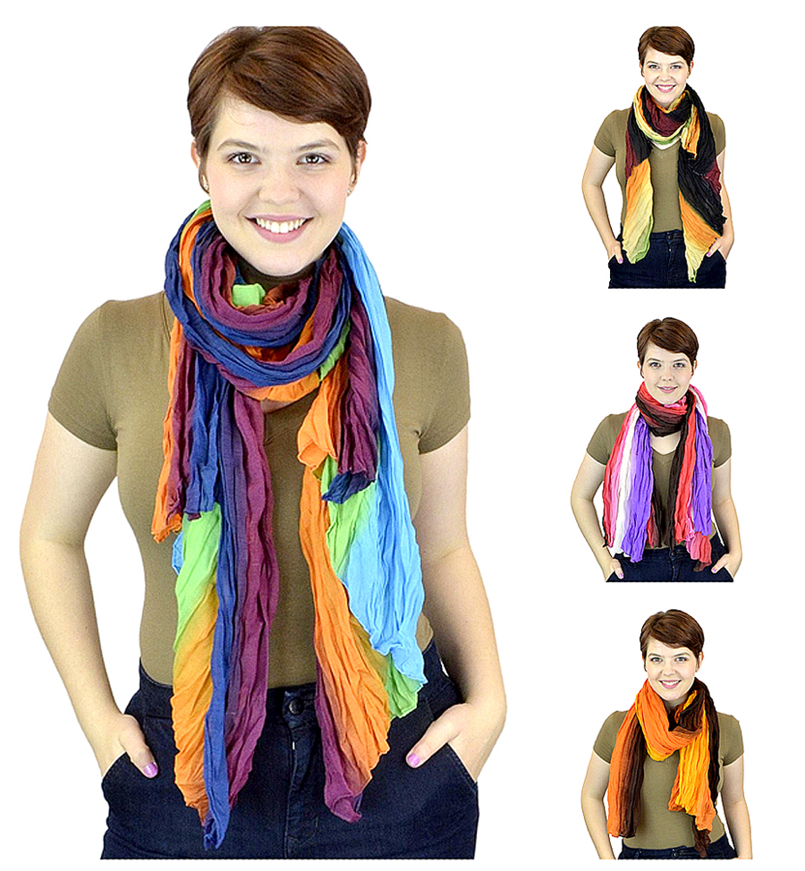Belle Donne - Women's  Scarves Mix Styles Shawls Wraps Scarf Many Colors