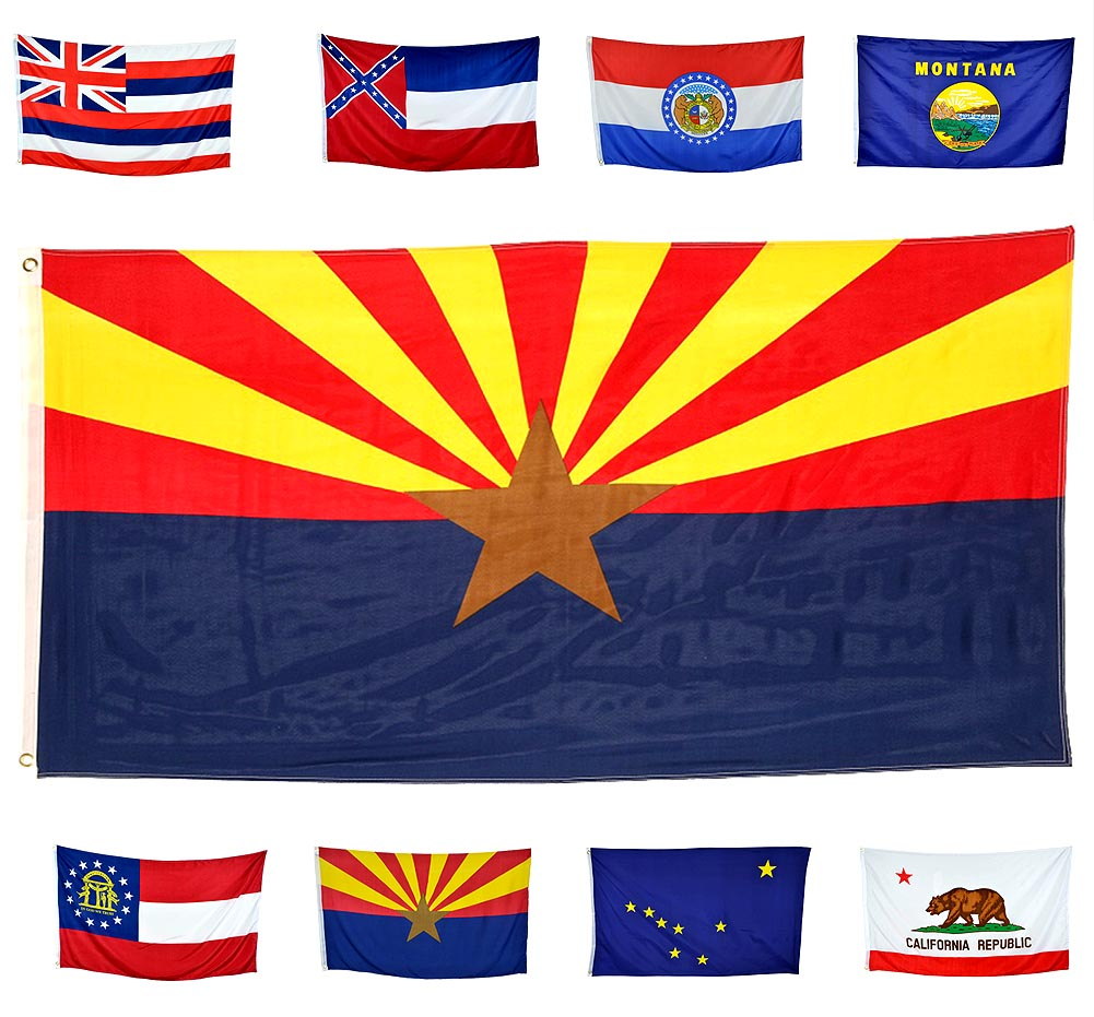 Shop72 - High Quality US State Flags - 100D 3x5 Polyester Flags