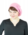OPT-HAT-KNITBERET-WH4082-Pink