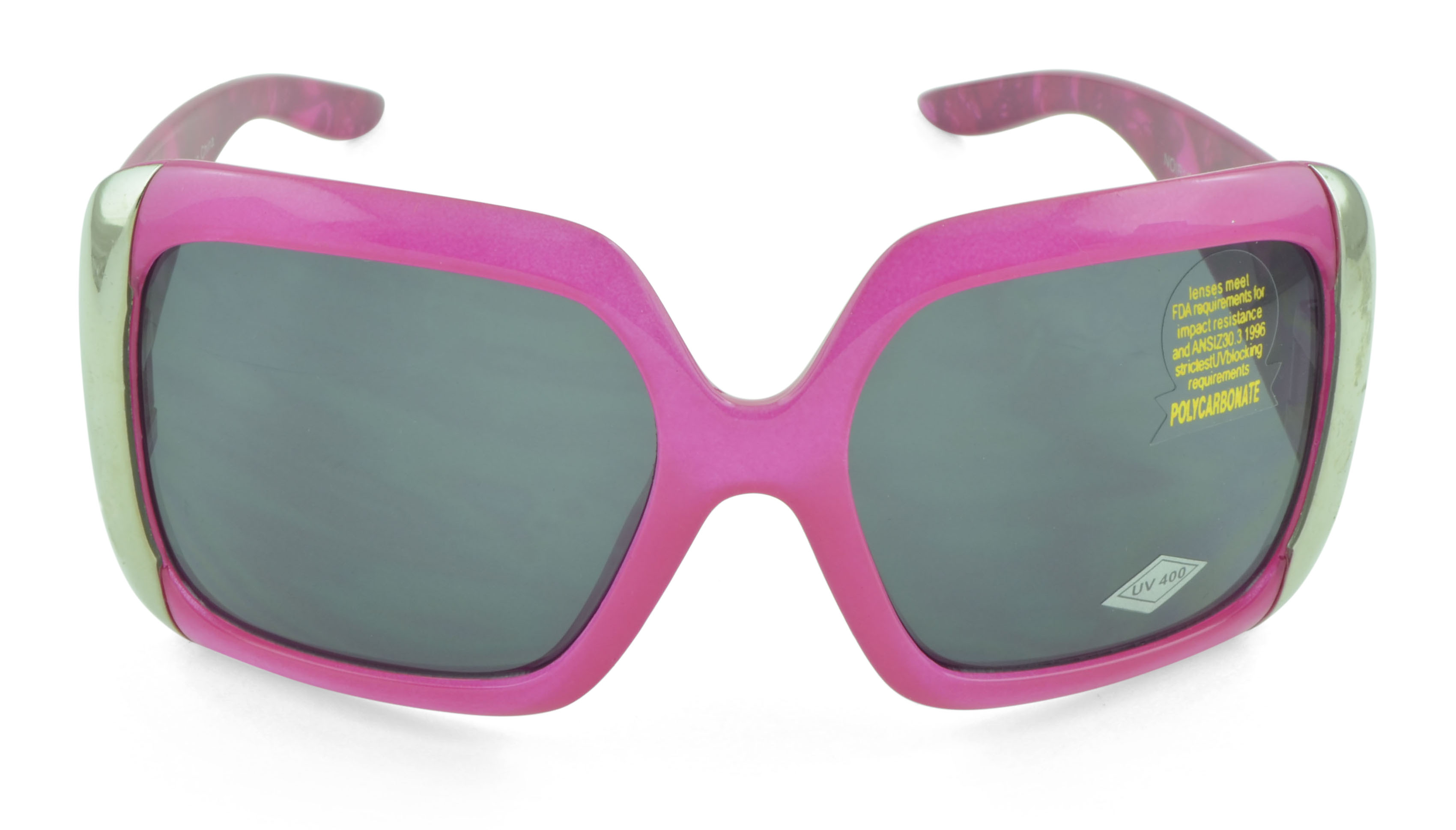 Belle Donne- Oversize Large Women's Fashion Celebrity Sunglasses - Clear Butterfly Oversized Sunglasses for Women and Girls - Trendy Ladies Sunglasses - UV Protection - Polarized - Pink