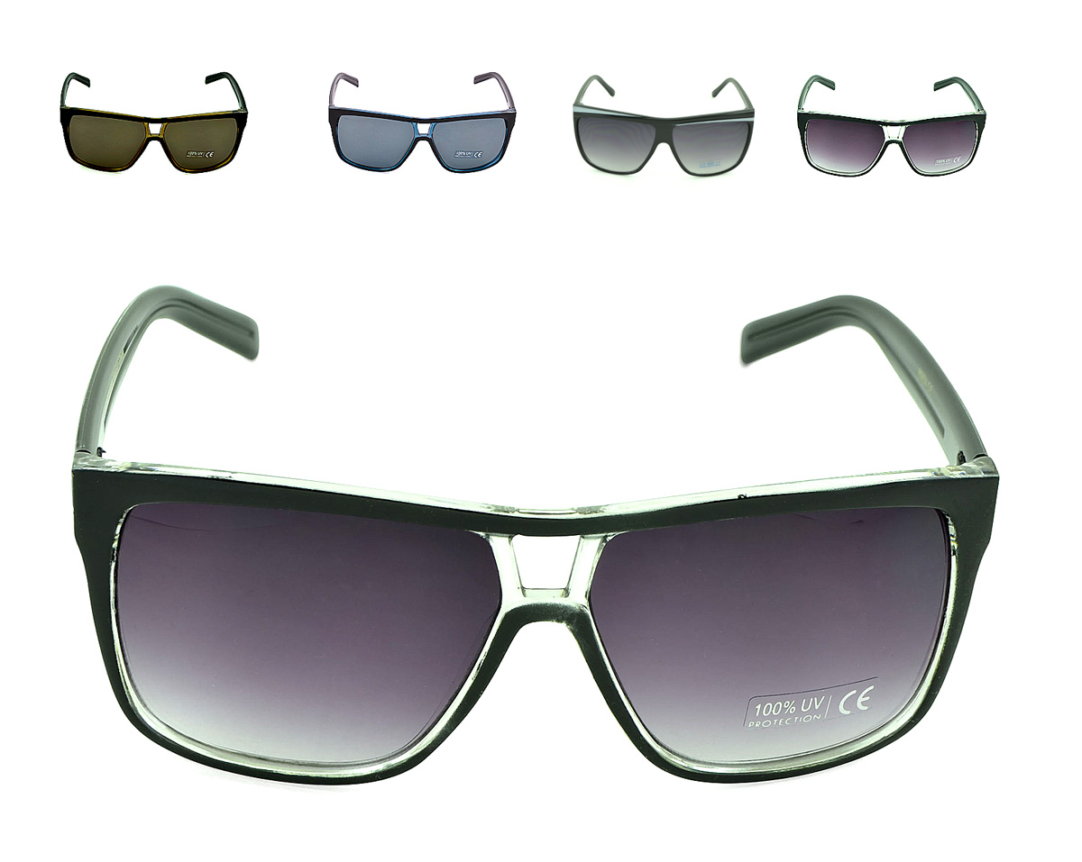 Belle Donne - Unisex Modern Bold Fashion UV Lens Sunglasses in Assorted Colors