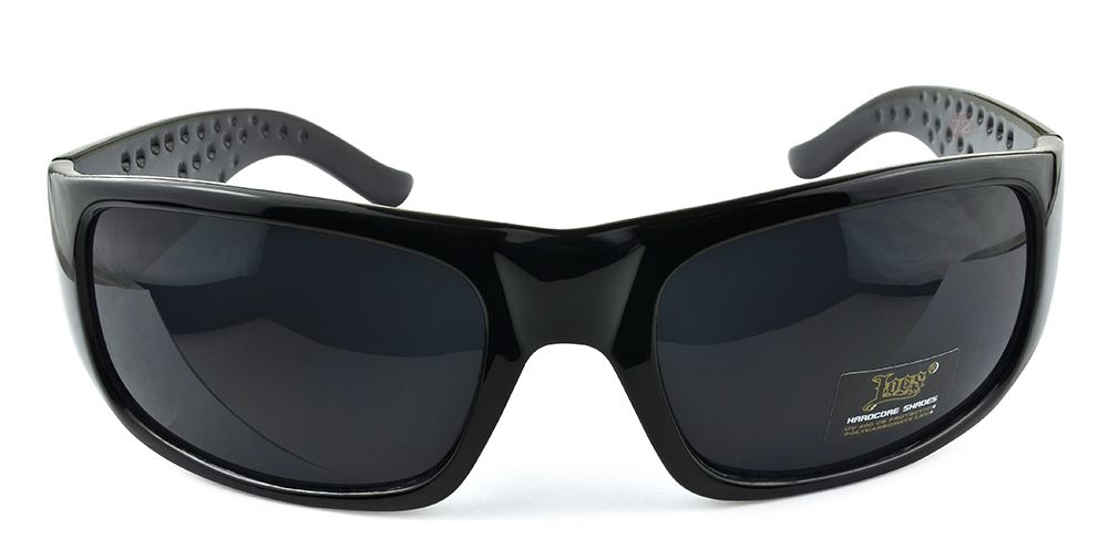 Belle Donne- Trendy Mens and Womens Hardcore Fashion Dark Lens Sunglasses-Black
