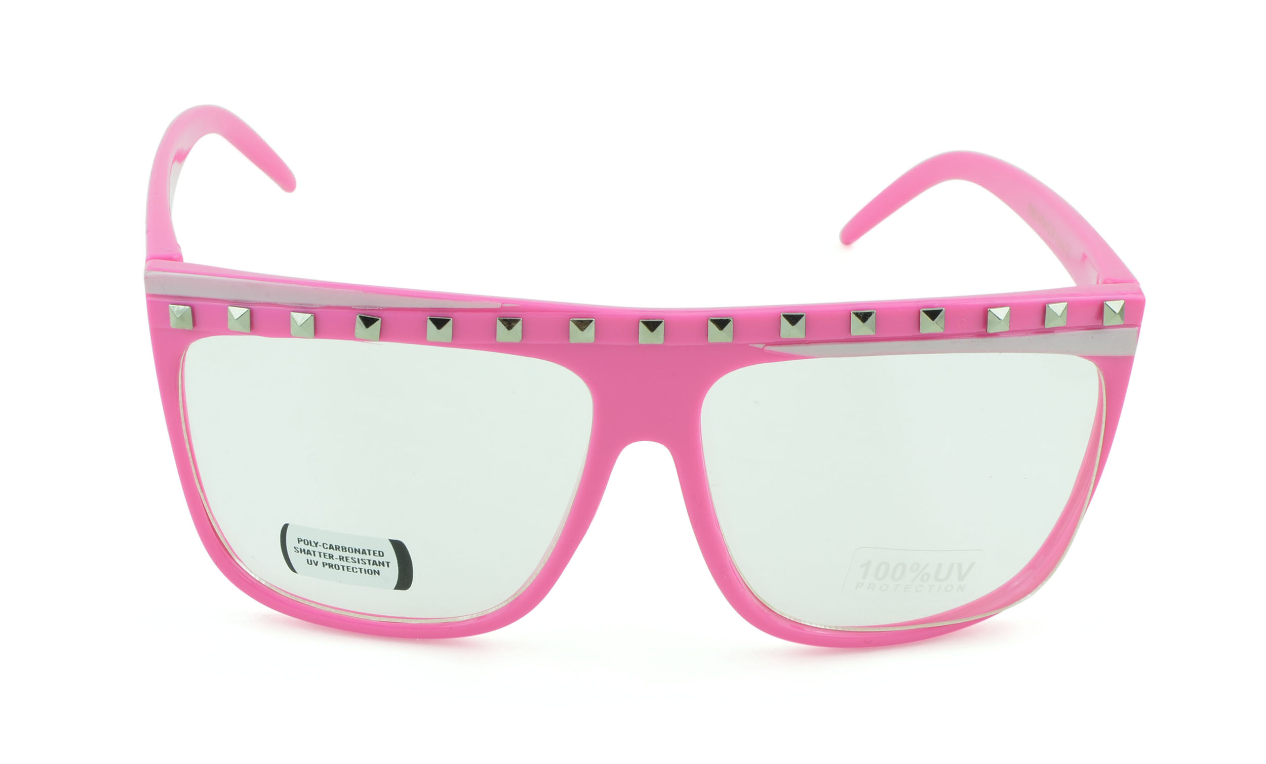 Belle Donne-Unisex Trendy Fun Colorful Fashion Party Sunglasses - Pink