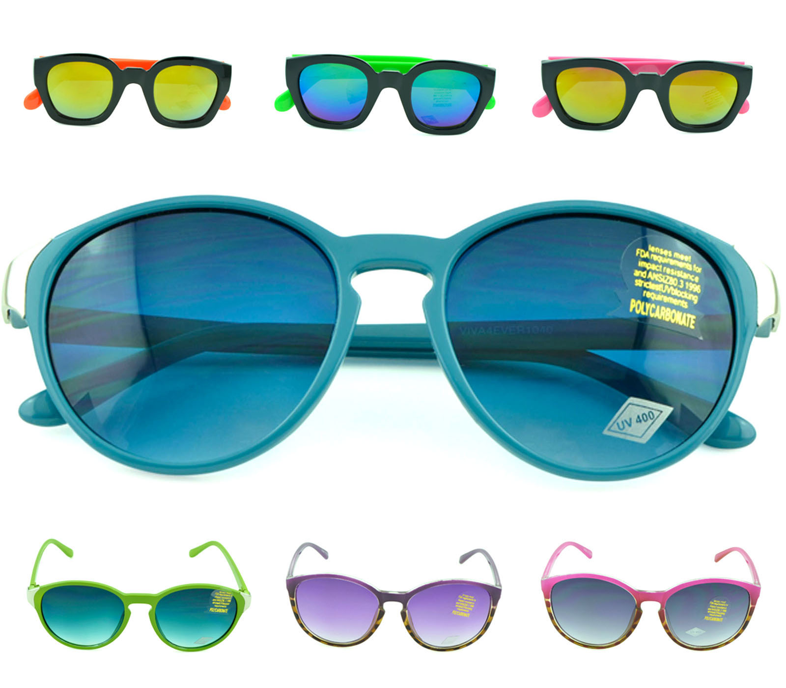 Belle Donne-Modern and Bold Womens Fashion Sunglasses with UV Protection