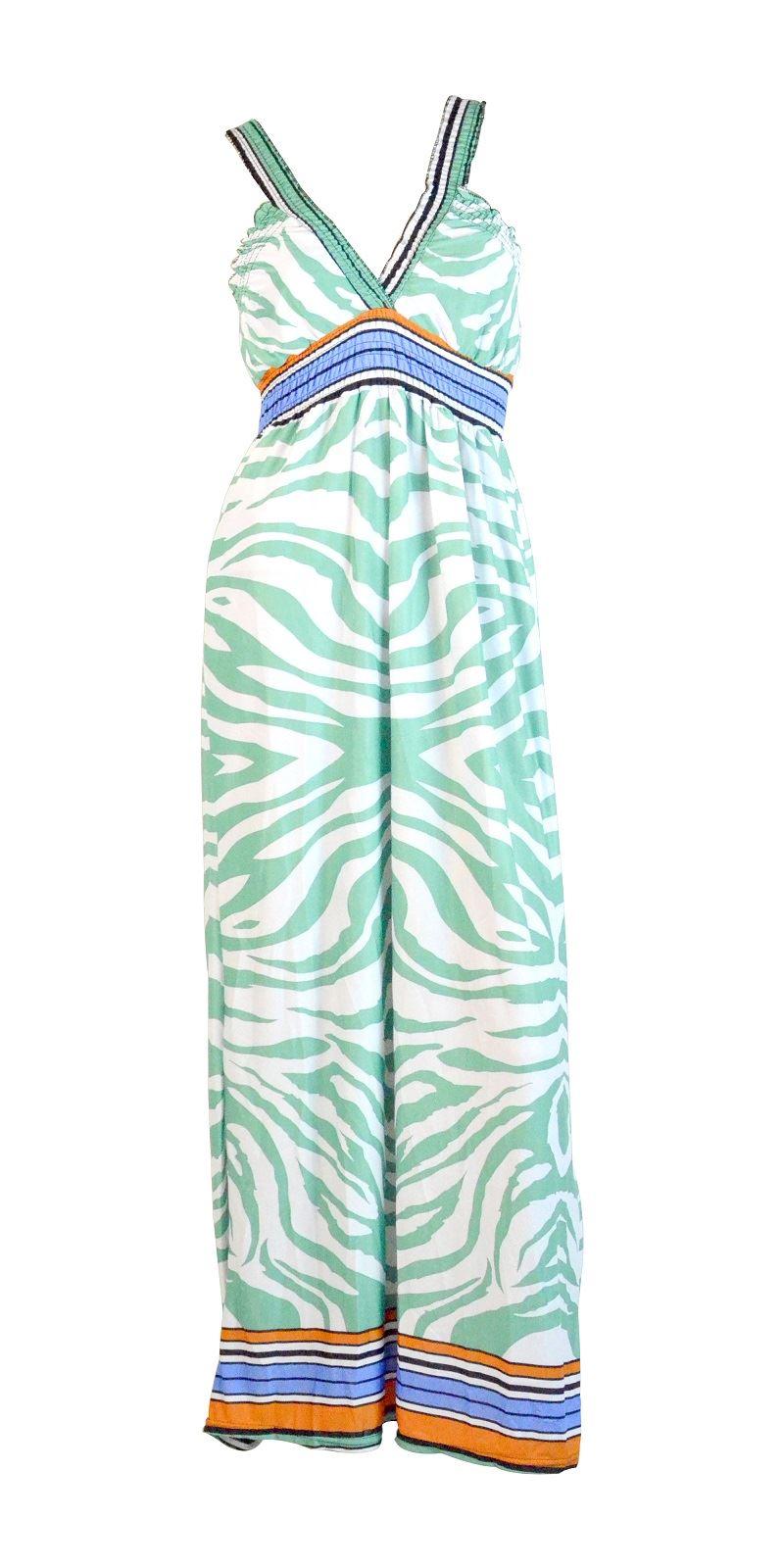Belle Donne -Women Maxi Dress Summer Dress Top Halterneck Fashion Long Dress - Green