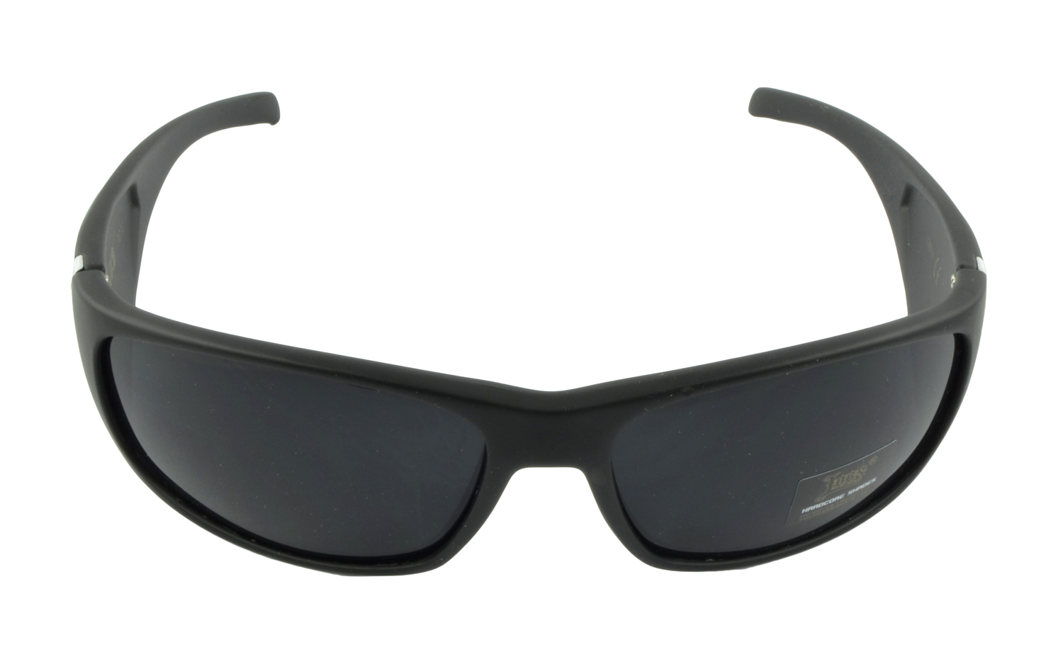 Belle Donne- Trendy Men or Women's Hardcore Dark Lens Sunglasses-Black Matte