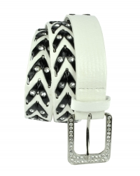 BB-Belt-A115-White/XL