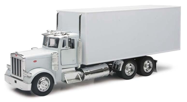 NewRay Toys - 1:32 PETERBILT 379 BOX TRUCK