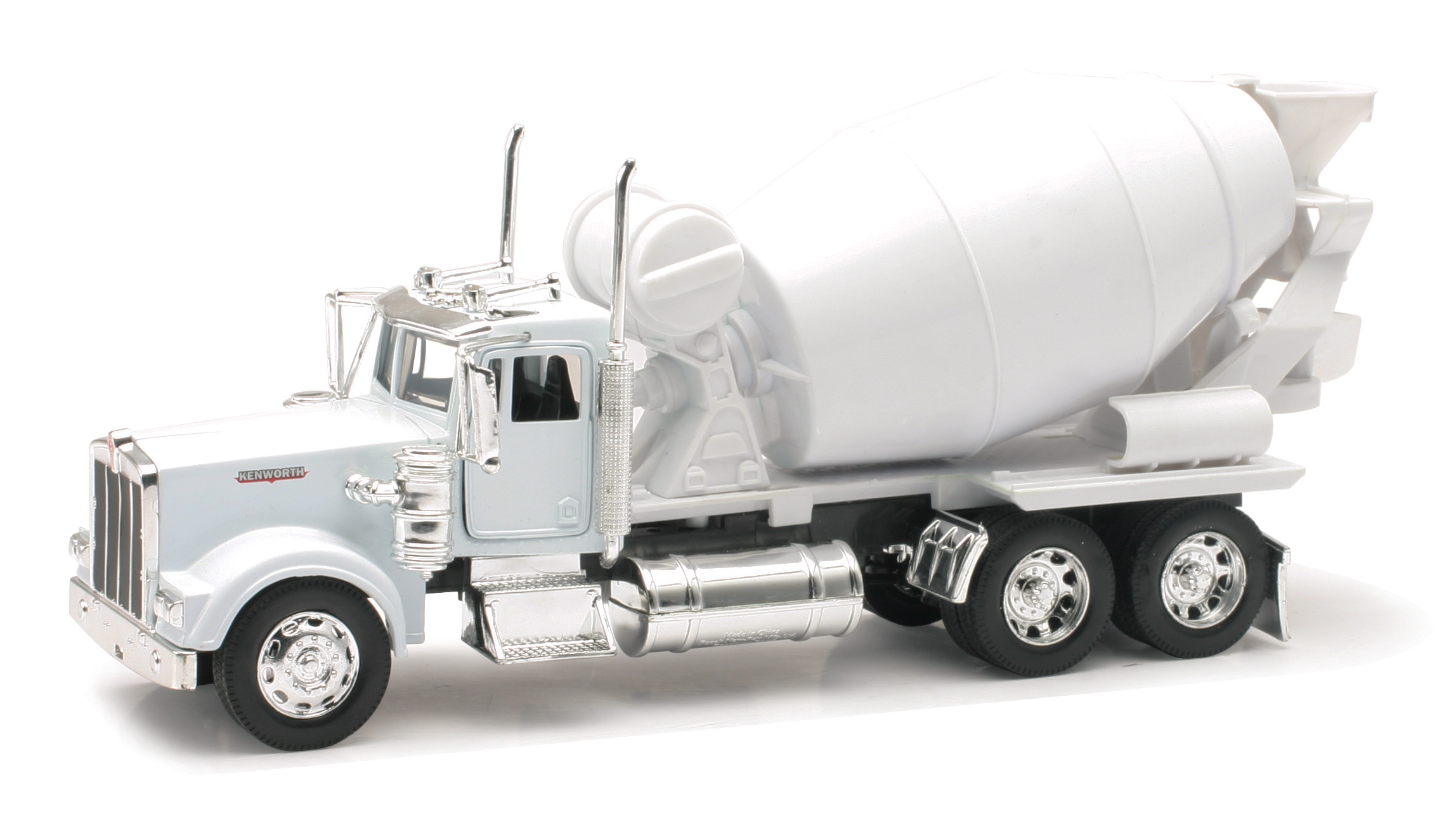 NewRay Toys - 1:32 KENWORTH W900 CEMENT MIXER