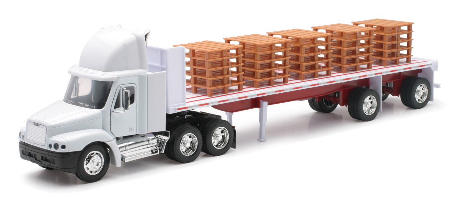 Freightliner Century With Pallets, 1:32, White