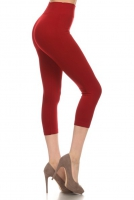 YL-Leggings-SML518SD-Burgundy
