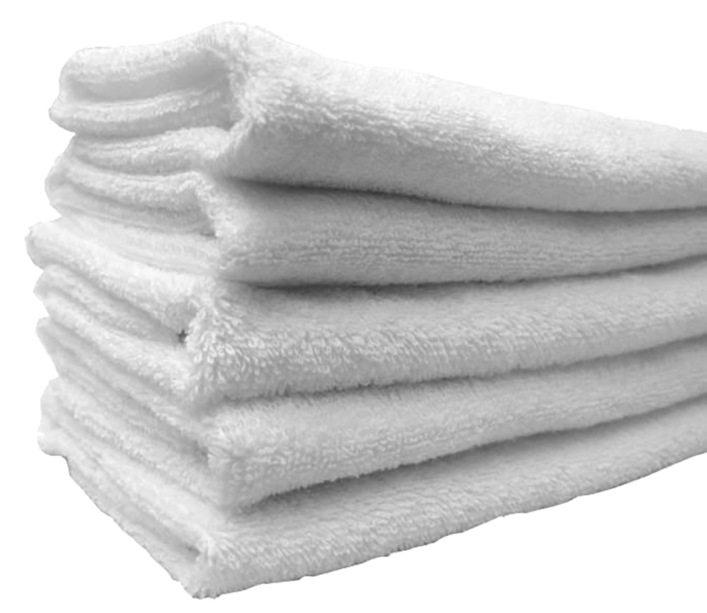 "Egyptian 100% High Quality Cotton Plain Hand Towel 16""x30"""