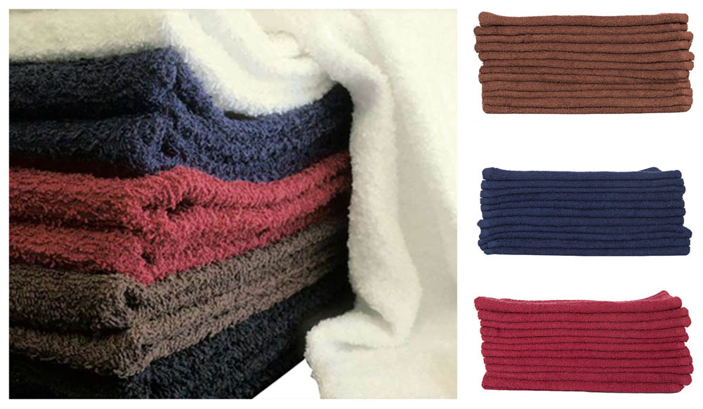 Shop72 - Cotton Bath Towels Extra Soft Quick Dry Lightweight Towels Hotels Home