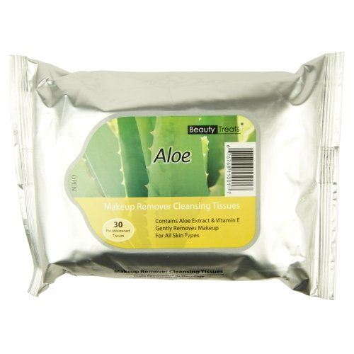 Aloe Beauty Treats Makeup Remover Cleansing Tissues