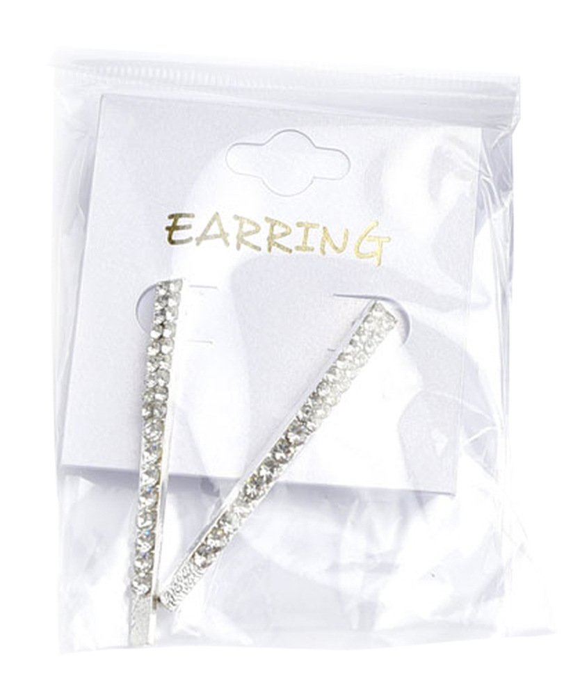 Multi Stone Drop Earring