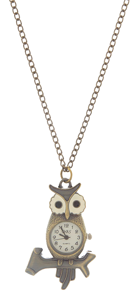 Belle Donne Earring / Necklace Animal Shape  For Girls / Women Jewelry Animal - Gold-Owl5 One Size