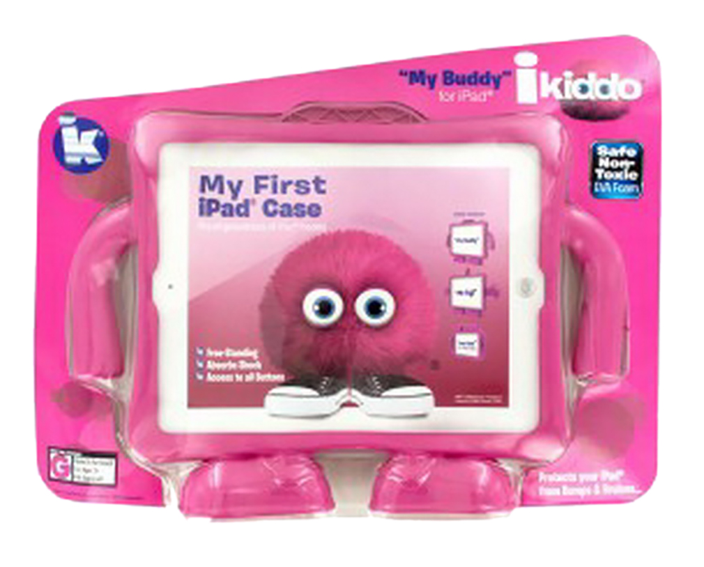 "iKiddo ""My Buddy"" Pink Free-Standing iPad Case"