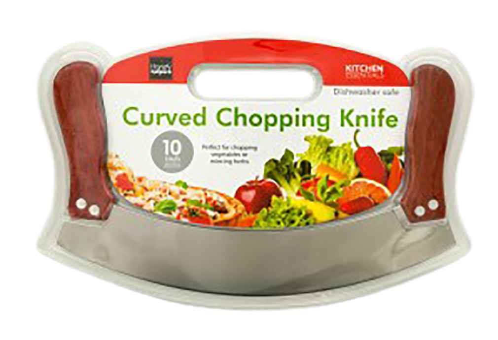 Curved Chopping Knife