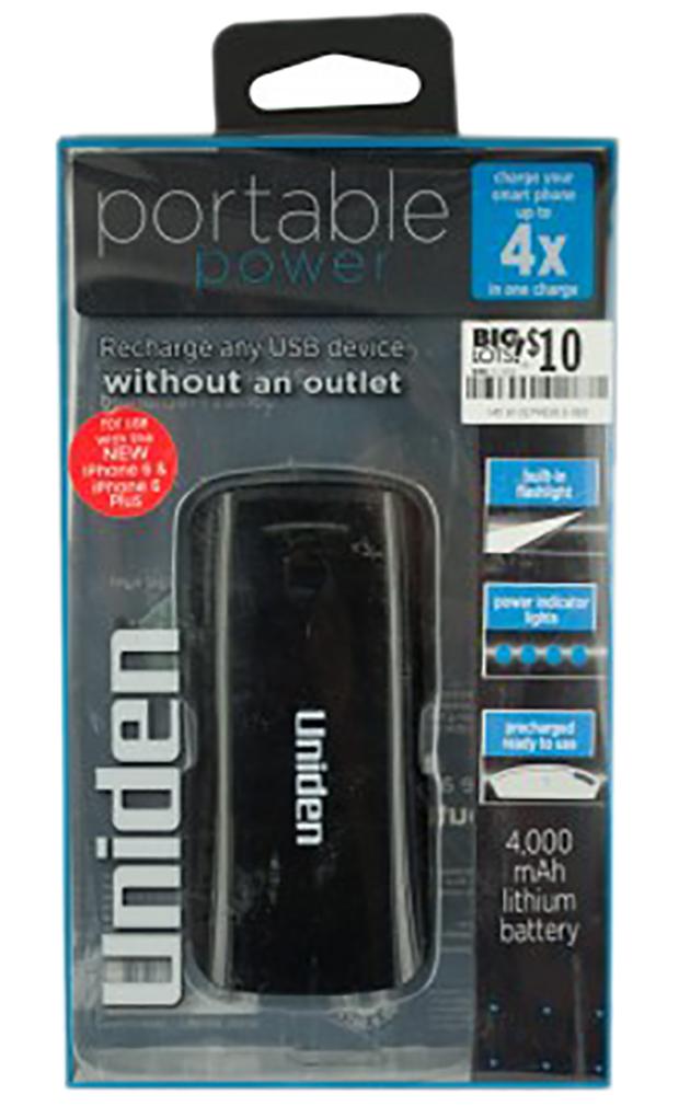 """Portable Power USB Charging Port with Flashlight"""