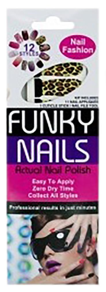 Funky Nails Adhesive Nail Polish