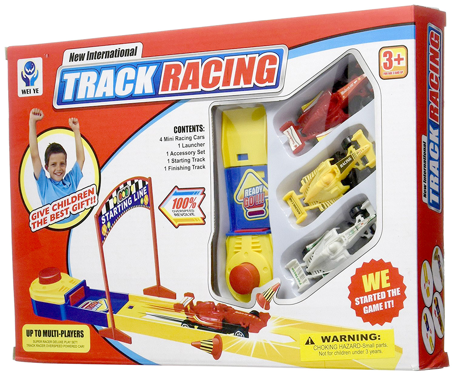 Launch Racing Cars