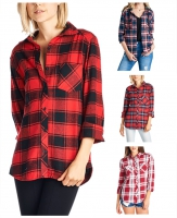 VP-CVL-ZHS-WOMEN-PLAID-SHIRT
