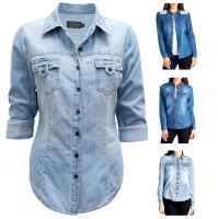 VP-CVL-ZHS-WOMEN-DENIM-SHIRT