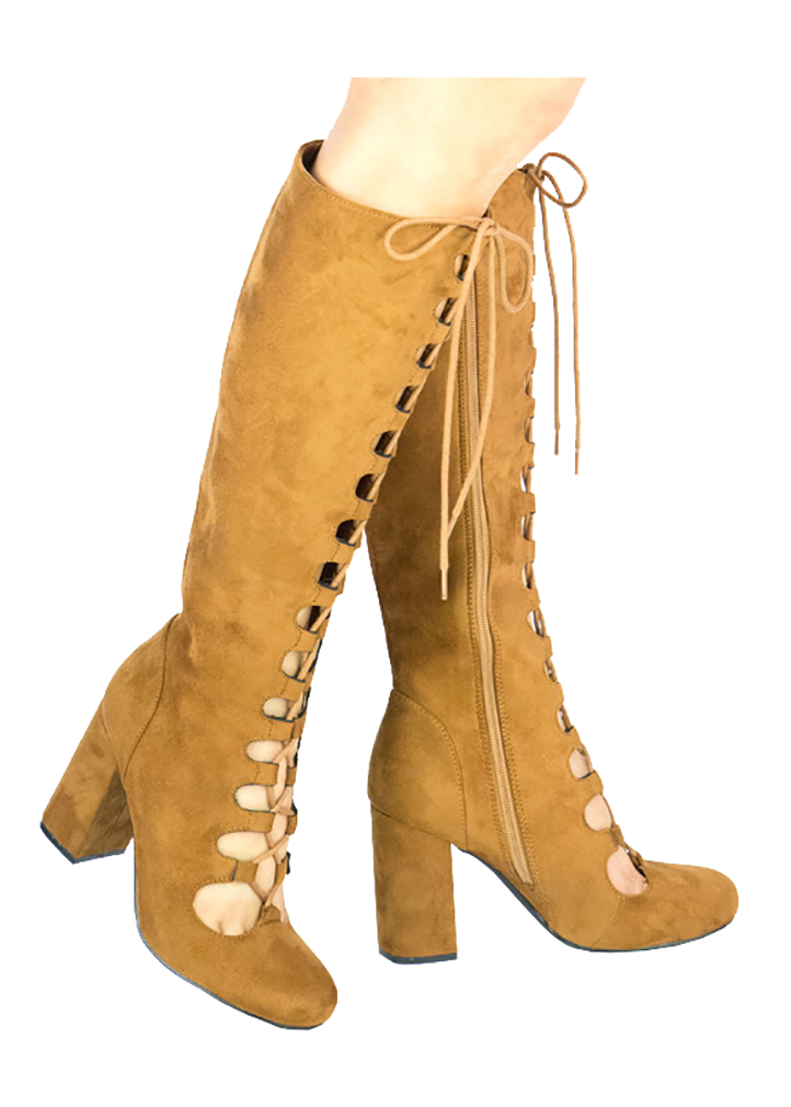 Women Lace Up Boots Ankle High Boots For Women