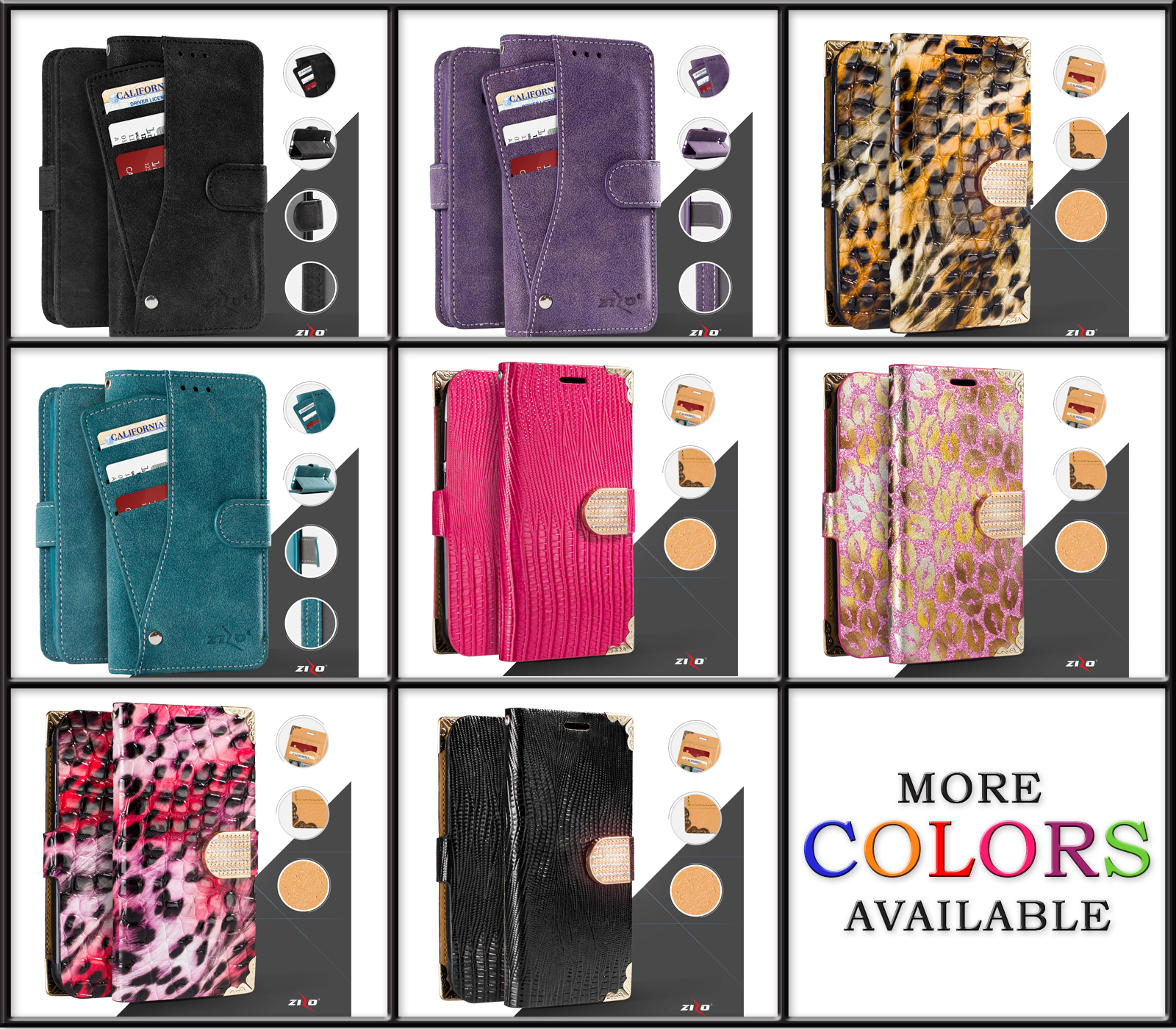 Stylish Exclusive Iphone Cases - Cell Phone Wallet Case - Iphone 6, 7 & Plus