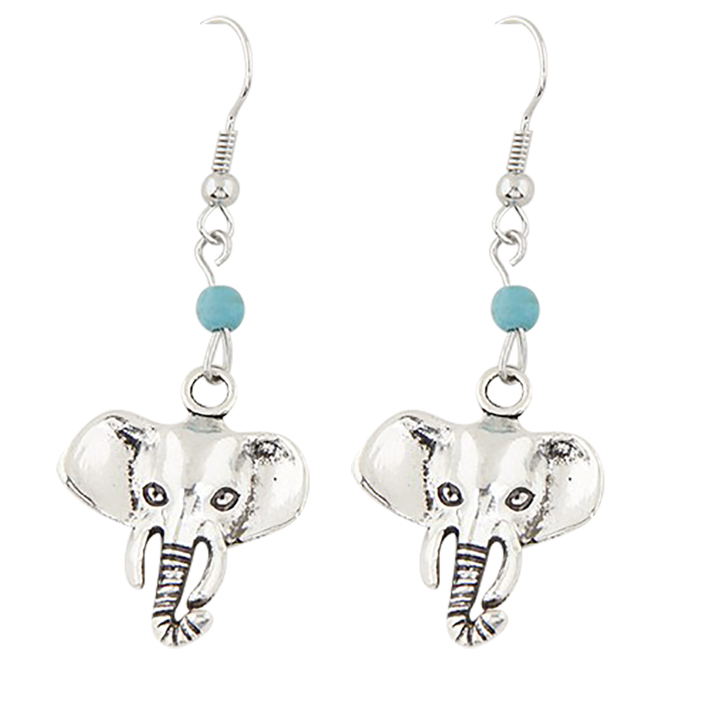 Belle Donne - Vintage Elephant Heads Fashion Earrings