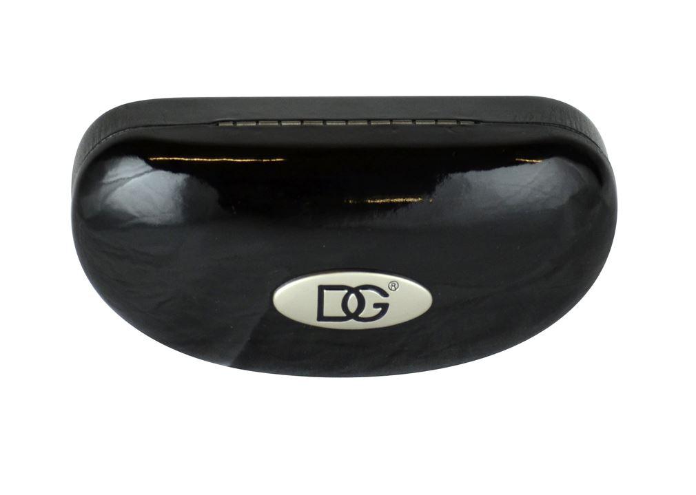 SunGlasses Hard Case Black With DG Sign