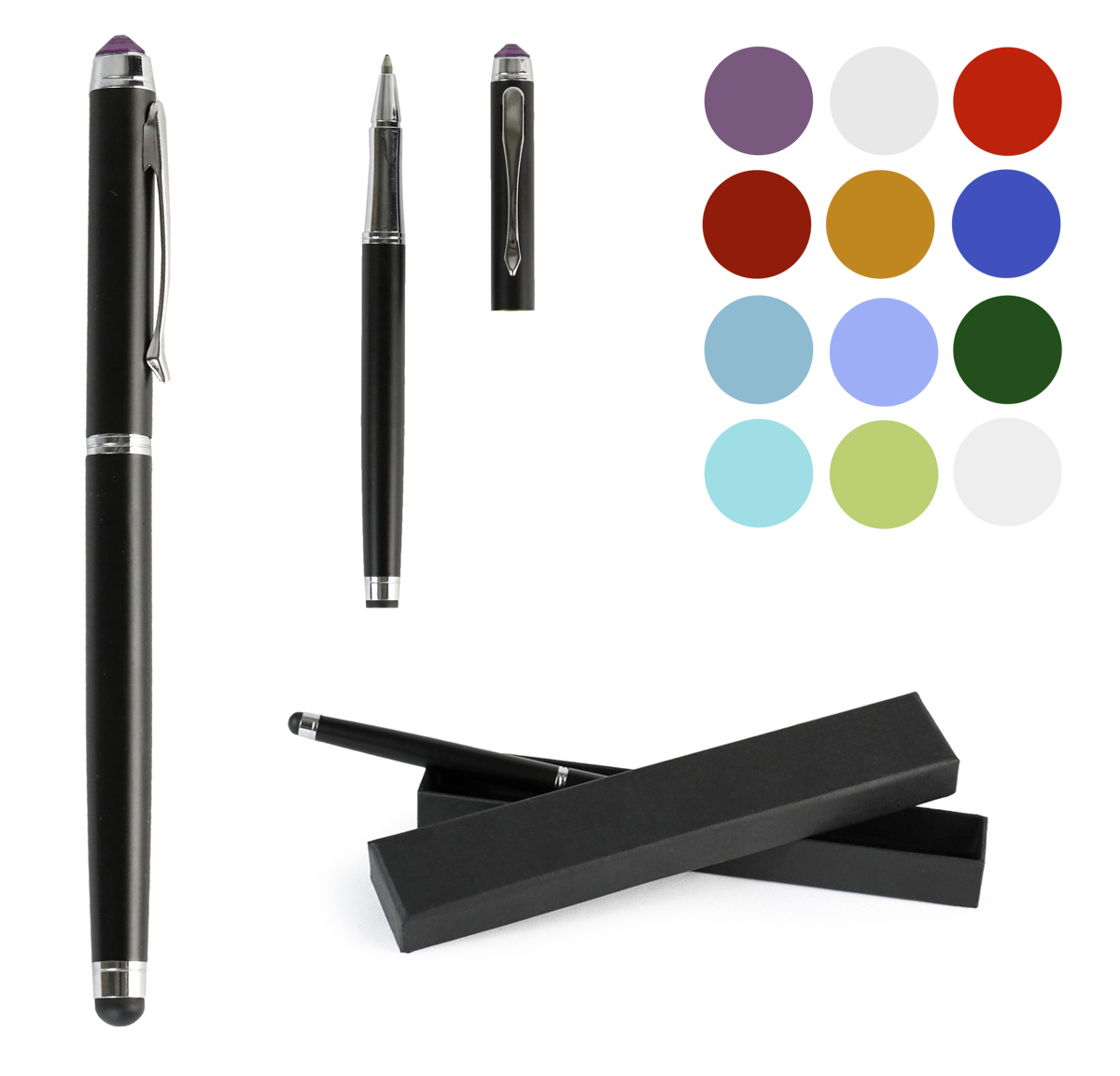 Universal Stylus Pen - Touch Screen with Gem for Iphone Ipad Tablet Smartphones