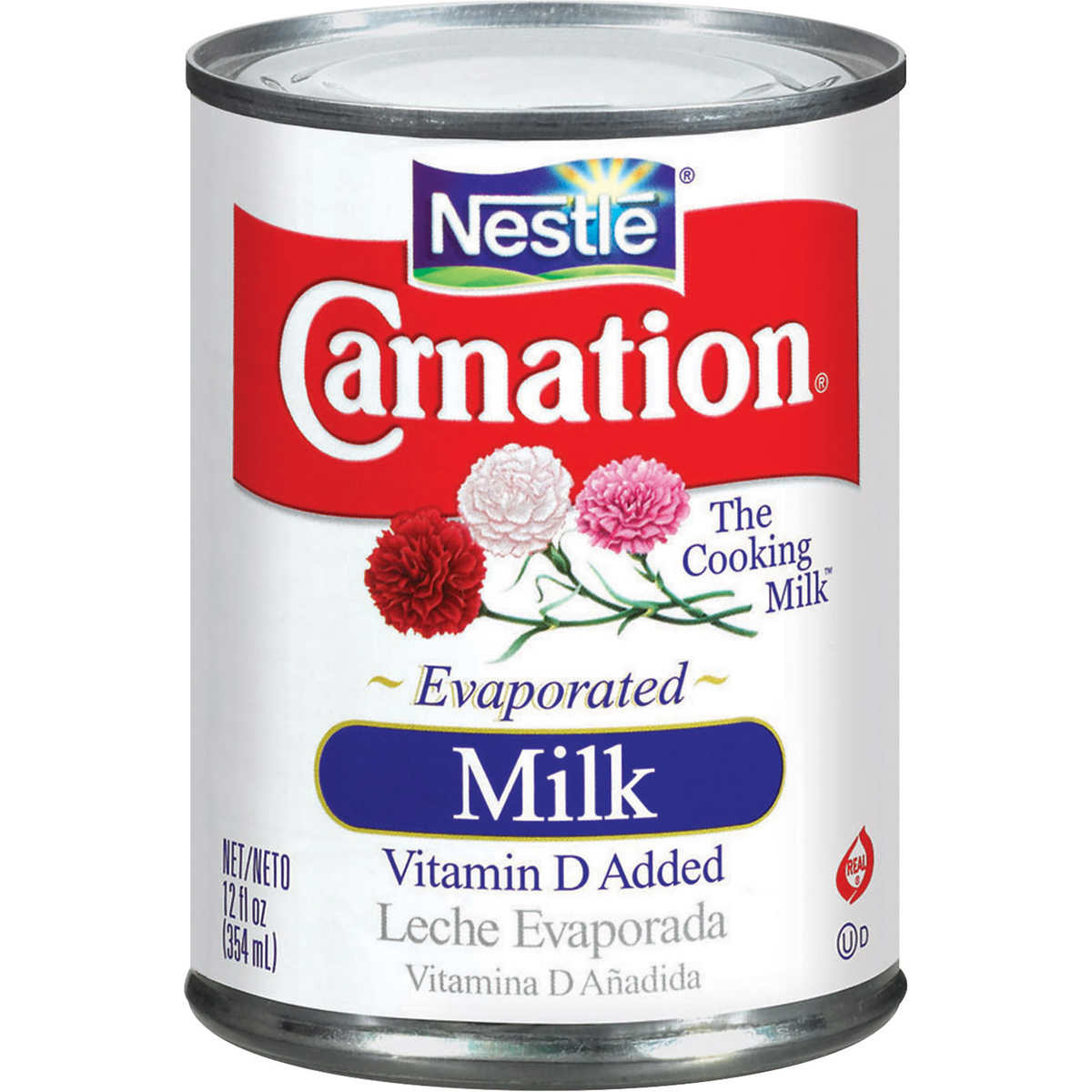 Carnation Evaporated Milk Cans 12 fl.oz, 12 Count
