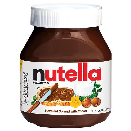Nutella Hazelnut Spread, 26.5 Ounce ( Case of 12 )
