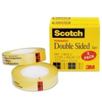 SCOTCH-DOUBLESIDETAPE-2PK-665